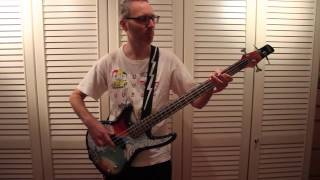 Mr. Fabulous - Too much Love will kill you - Queen Bass Cover (Easy)