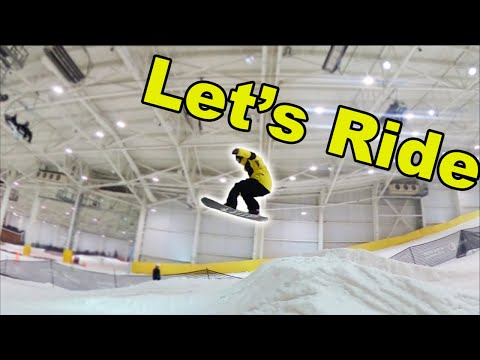 Snowboarding Live From Big Snow!