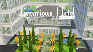 Inside a Luxury Hotel | The Sims Mobile | Lei Estates