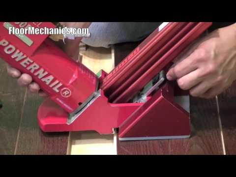 Powernail Model 50P Ratcheting Nailer Demonstration