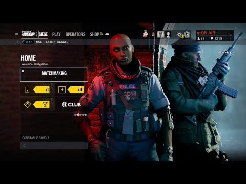 PS4 Ranked Solo Q | Rainbow Six Siege