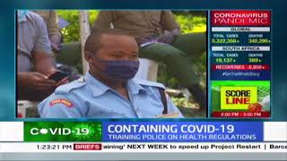 NGAO sensitise police officers on their roles, do\'s and don\'ts in Kisumu