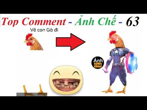 💥Reaction 💓 Top Comment  Ảnh Chế (P 63) Vẽ tiếp con gà