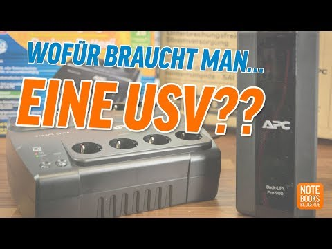 Was ist eigentlich eine USV? - Deutsch / German