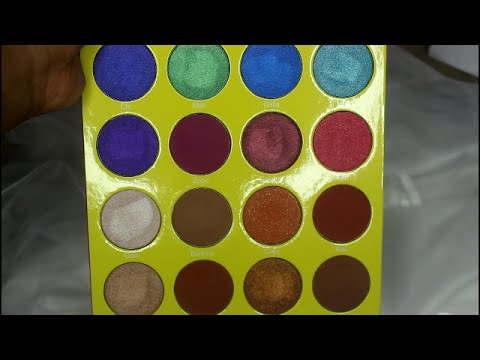 The Masquerade Eyeshadow Palette by Juvia's Place #10