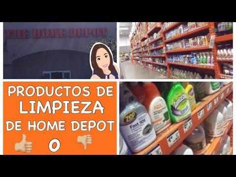 Tour por Home Depot Productos de Limpieza