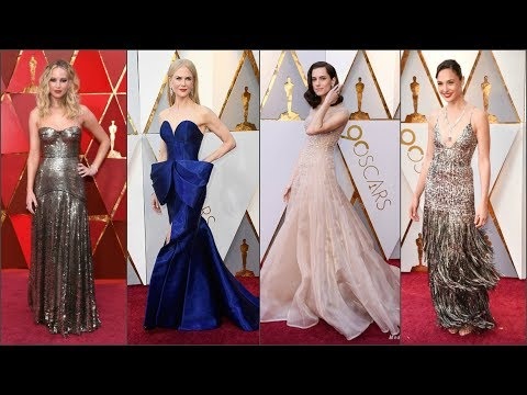 Оскар-2018: самые яркие наряды звезд