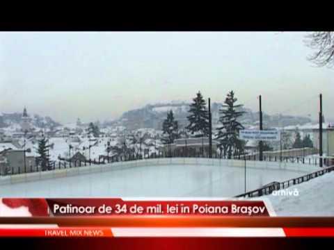 Patinoar de 34 de mil. lei in Poiana Brasov