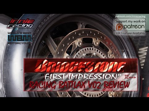 "Racing Battlax V02 Bridgestone ""First Impression"" Public Review 