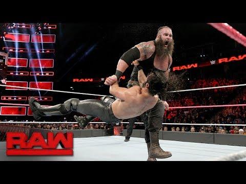 Download Seth Rollins vs. Braun Strowman: Raw, Oct. 2, 2017 HD Mp4 3GP Video and MP3