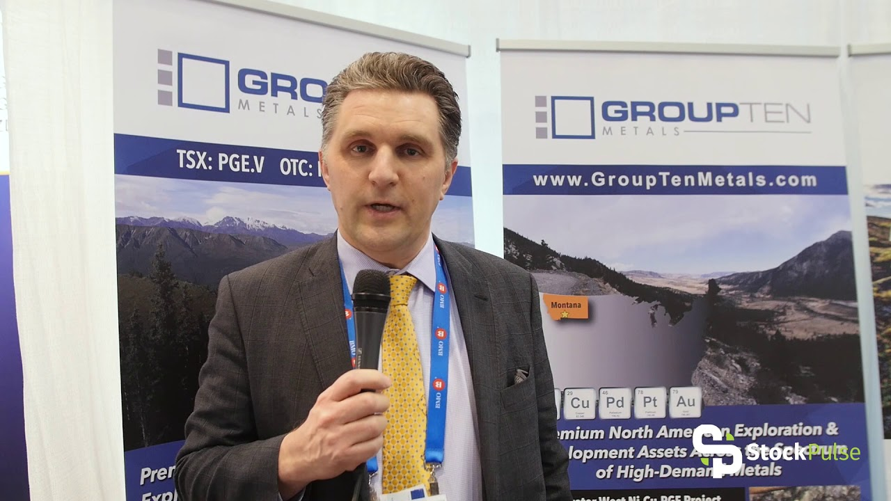 Group Ten Metals Catalyst Clip with President & CEO Michael Rowley at the 2018 PDAC in Toronto