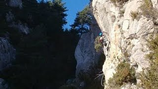 preview picture of video 'Ferrata Extreme de Cingle de Cal Curt, en Vallcebre'
