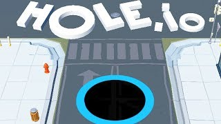 THIS IS THE MOST POPULAR IO GAME?! | Hole.IO