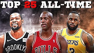 Top 25 NBA Players Of All Time - SHOCKING FACTS SHOW THE GREATEST OF ALL TIME!!!🏀