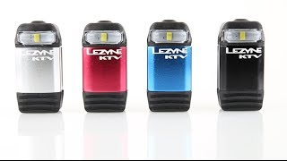 Lezyne KTV Drive - Our Smallest Rechargeable Front Safety Light