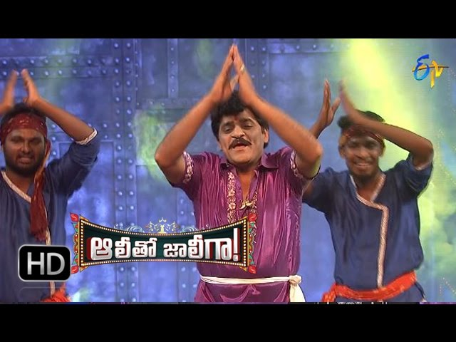 Ali Dance Perfomance | MaaVoor Devudu Song | AlithoJollygaa -12th April 2016