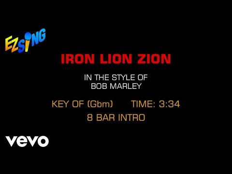 Bob Marley - Iron Lion Zion (Karaoke)