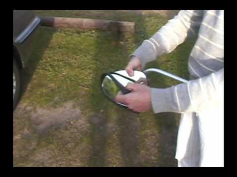 Caravanspiegel / Wohnwagenspiegel Alufor und Luxmax von Repusel (Deutsch)
