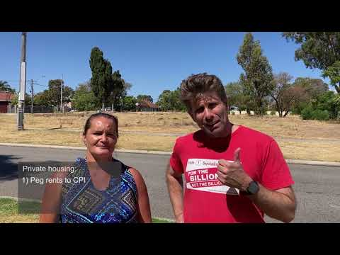 Sam Wainwright & Marriane Mackay - Housing is a Human Right - Vote Socialist Alliance 1
