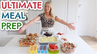 ULTIMATE FAMILY MEAL PREP IN 2 HOURS     EASY MEAL INSPIRATION     Emily Norris