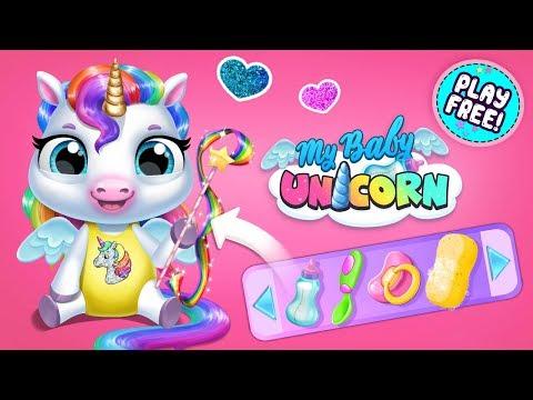 My Baby Unicorn – opieka nad słodkim jednorożcem wideo