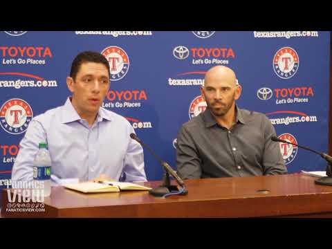 Texas Rangers 2019 Year End Press Conference with Jon Daniels & Chris Woodward
