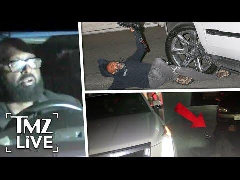 [TMZ]  J-Lo & A-Rod: Driver Hits A Man!