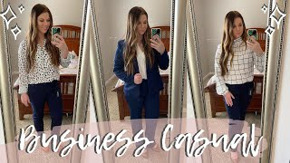 INTERVIEW OUTFIT HAUL! BUSINESS CASUAL/PROFESSIONAL | AMAZON WORK CLOTHING HAUL | Destiny Phillips
