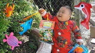 Trò Chơi Đi Săn Kẹo Cá ❤ ChiChi ToysReview TV ❤ Đồ Chơi Trẻ Em Baby Doli Kids Song