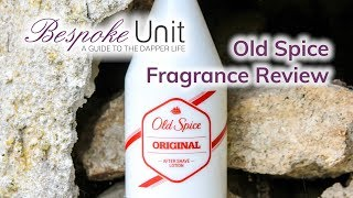 Old Spice Aftershave Review - A Classic American Men's Cologne From 1938