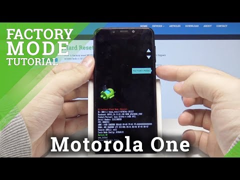 How to Enter Test Mode on MOTOROLA Moto G6 - Hardware Test