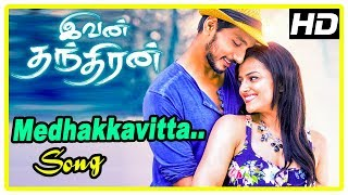 Ivan Thanthiran Movie Scenes   Gautham propose to Shraddha   Medhakkavitta Song   RJ Balaji