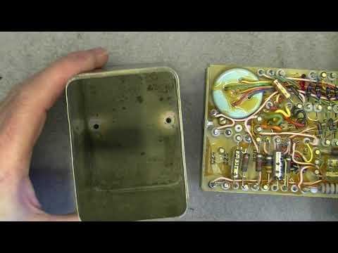 Sperry gyroscope slaving amplifier type C teardown