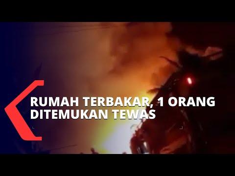 Rumah di Cilincing Jakarta Utara Terbakar, 1 Orang Tewas