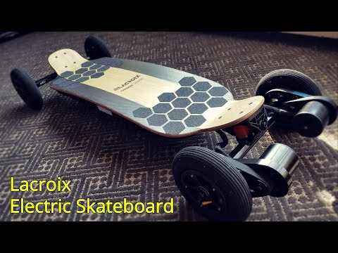 Lacroix Electric Skateboard Initial Impressions