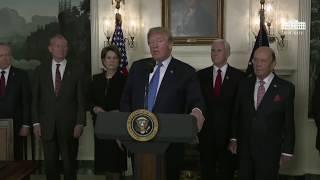 """Trump Signs Order Targeting """"China"""