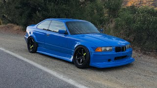 E36 BC RACING COILOVER INSTALL / STREET DRIFTING!!
