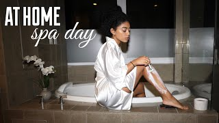 At Home Spa Day - My Pamper Routine! | Jasmeannnn