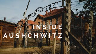American Visits Auschwitz Concentration Camp in Poland 2020
