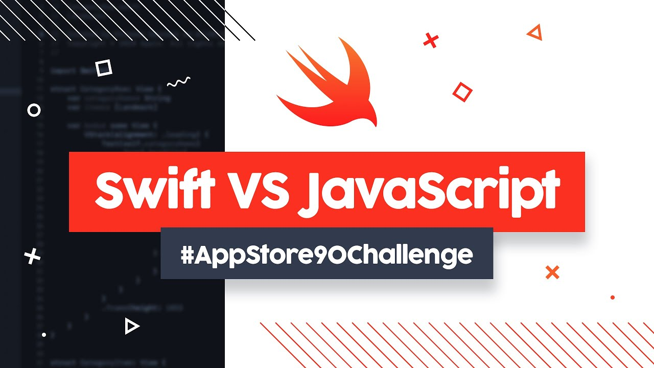 Od zera do mobilnego hackera - SWIFT vs JAVASCRIPT #AppStore90Challenge cover image