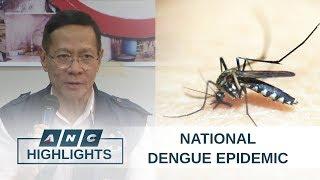 PH Health agency declares national dengue epidemic