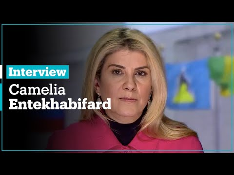 , title : 'Trump's Iran Statements: Interview with Camelia Entekhabifard, Independent Persian'
