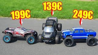 Welches RC AUTO ist das BESTE? 3 GÜNSTIGE im TEST!