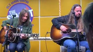 "Blackberry Smoke covers Tom Petty's ""You Got Lucky"" live at studio C 91.3fm TheSummit.com"