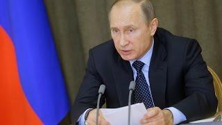 """Владимир Путин назвал атаку на российский Су-24 """"Ударом в спину"""""""