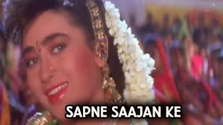 Title Song (Video Song) | Sapne Saajan Ke | Karisma Kapoor