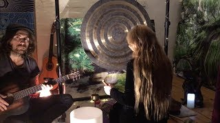 Melodic Vibrations (Sound Bath) Acoustic Guitar, Whale Sounds, Gong, Tibetan & Crystal Singing Bowls