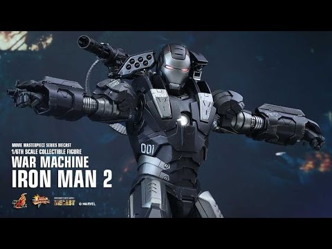 Thoughts on the Hot Toys Iron Man 2 War Machine Die Cast