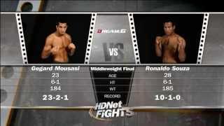 Gegard Mousasi  vs  Ronaldo Jacare Souza HD - Dream 6