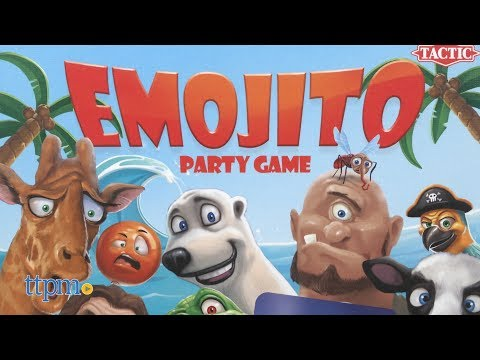 Emojito Party Game from Tactic